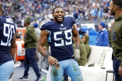 Woodyard leading Titans in tackles in his 11th NFL season