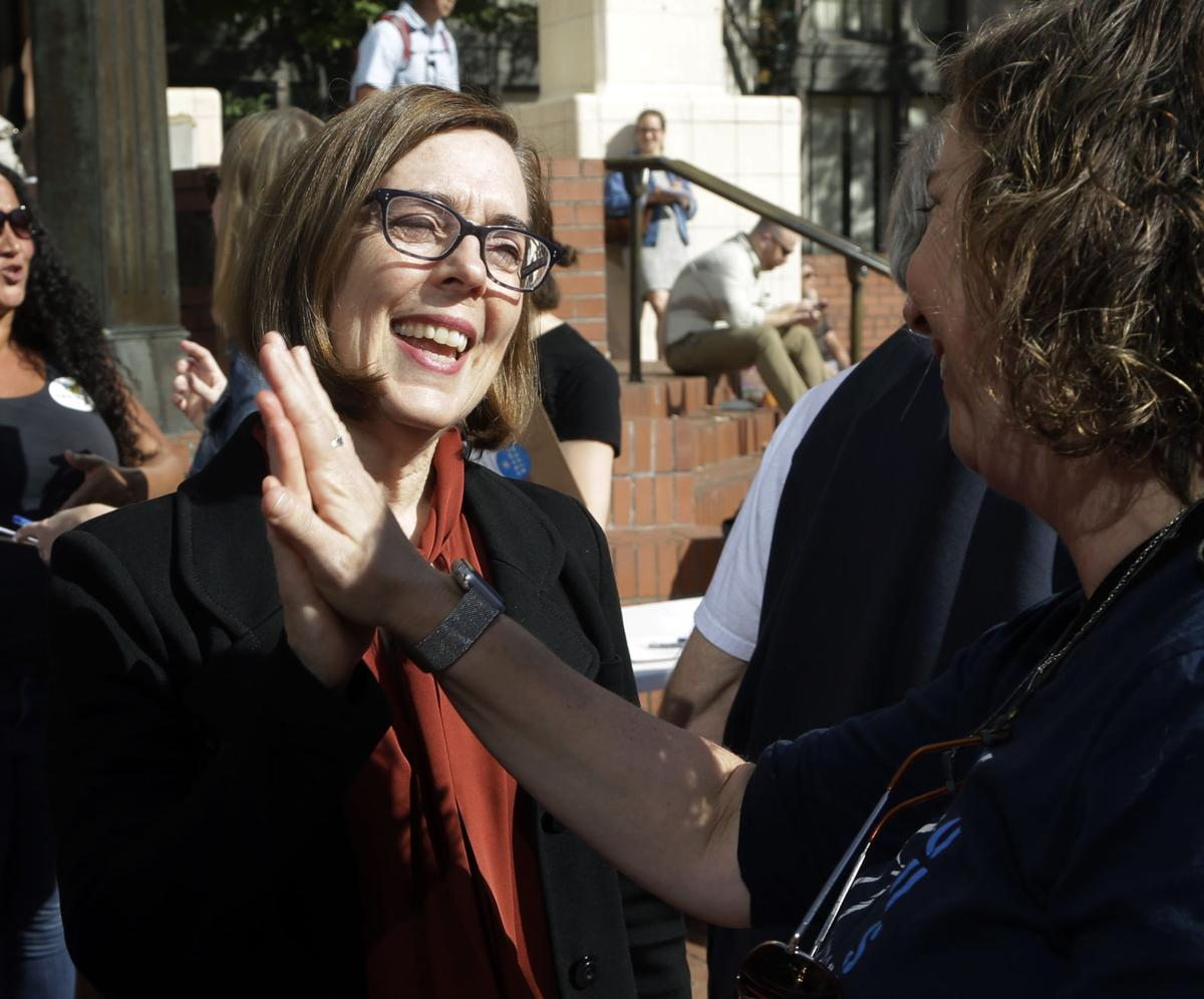 Brown wins second term as Oregon governor