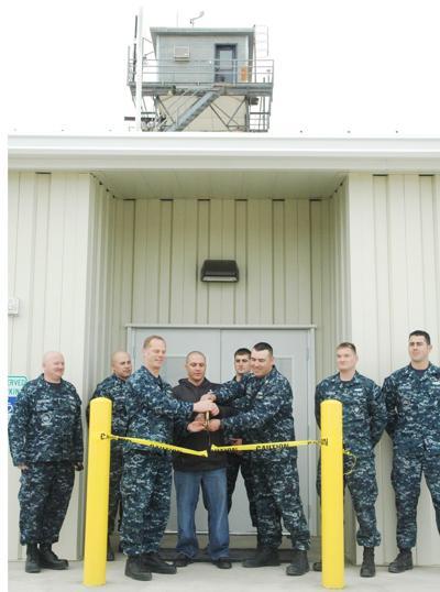 BOARDMAN Navy cuts the ribbon on new building at bombing range