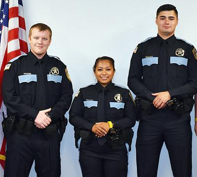 Reserve officer receive badges   Your EO News