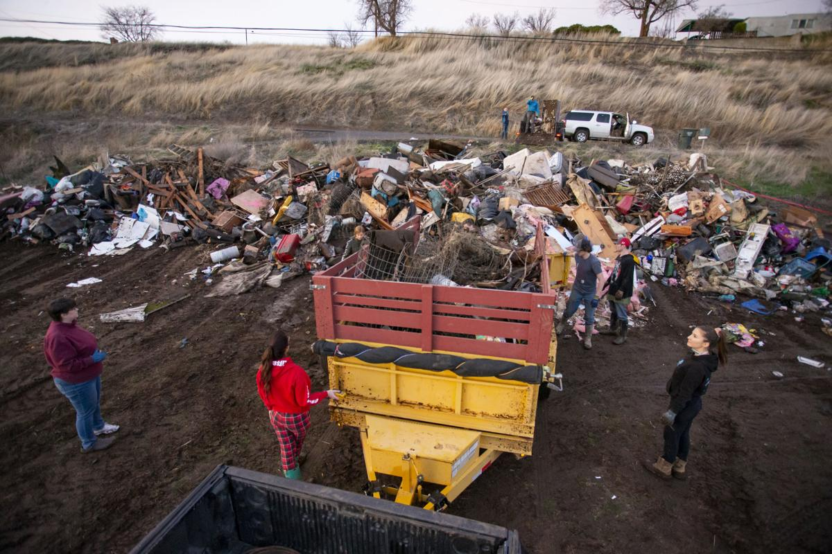 Umatilla River Flooding | Riverside Clean Up