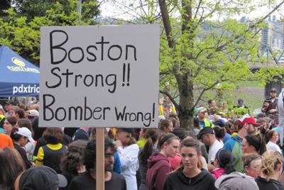 Portland Runners Show Support For Boston With Run Along Willamette