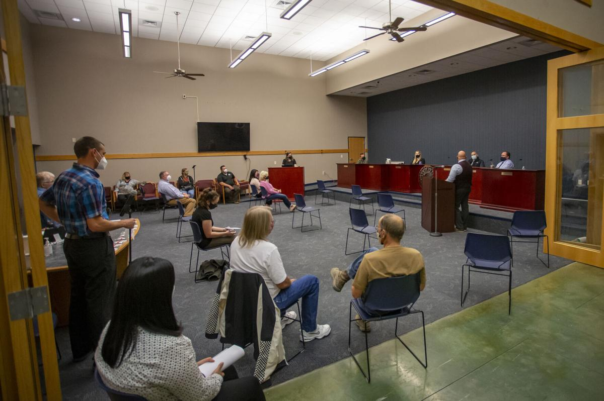 Umatilla City Council town hall 2020