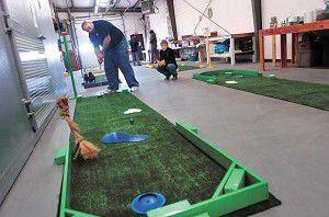 Agape House turns into mini-golf course