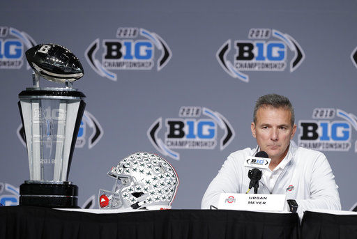 No. 6 Ohio St. ignores sideshows as Big Ten title game looms