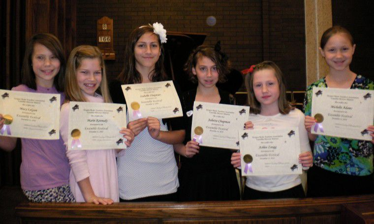 Area students perform in Ensemble Festival