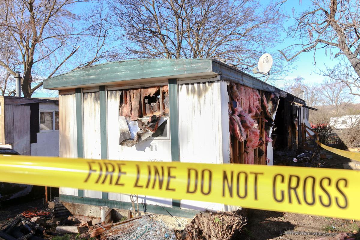 Fires ravage two Pendleton homes
