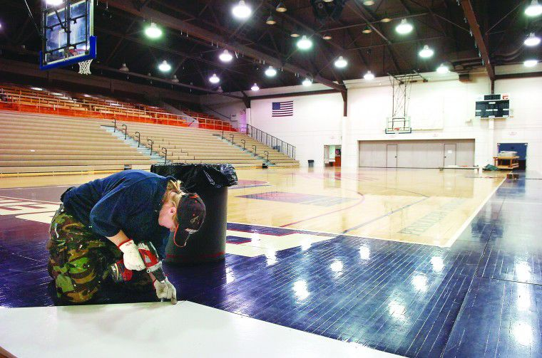 Getting ready for the Party: Pendleton prepares for basketball invasion