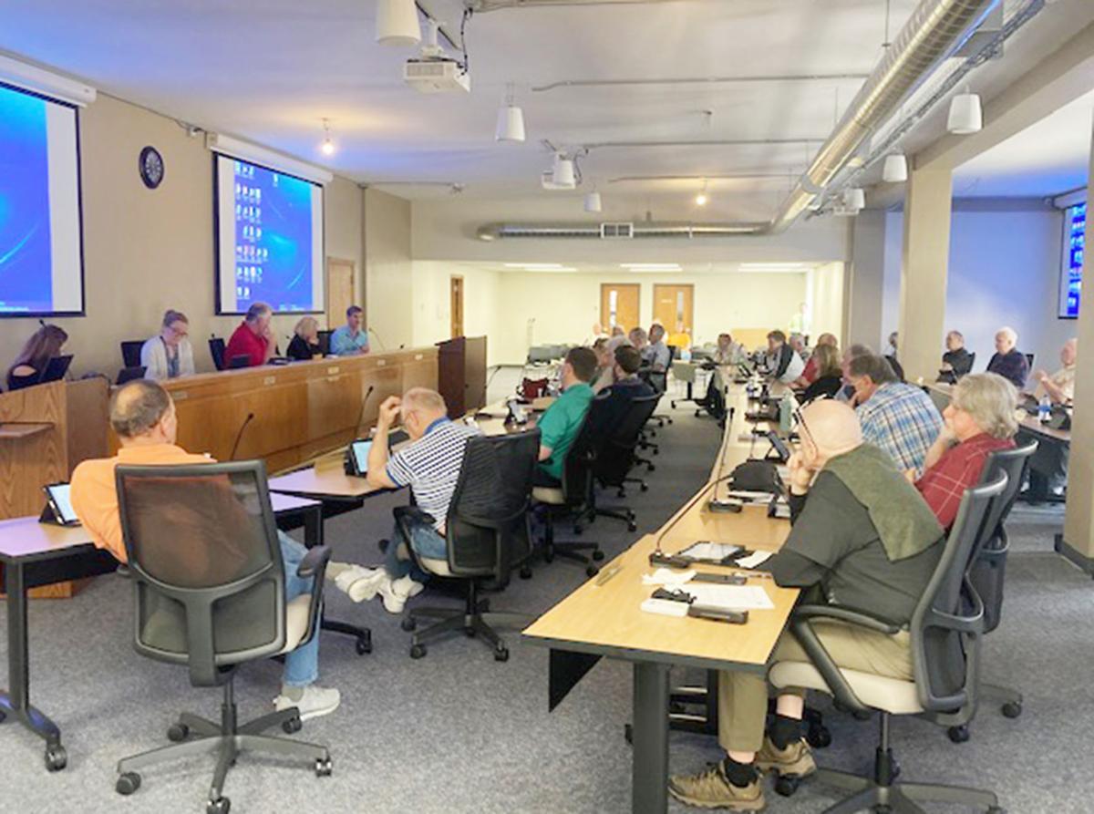 New county board room