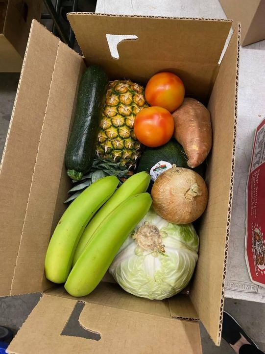 Produce is available during the Produce Project