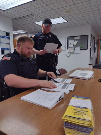 Officers prepare for Local Business Crime Awareness talks