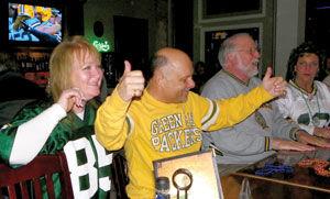 Packer fans celebrate
