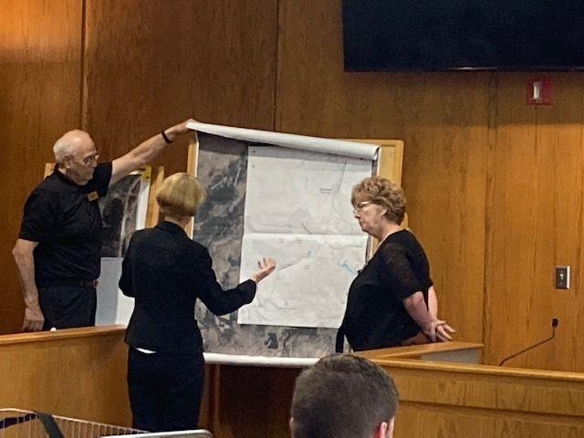 Denise Jackett testifies