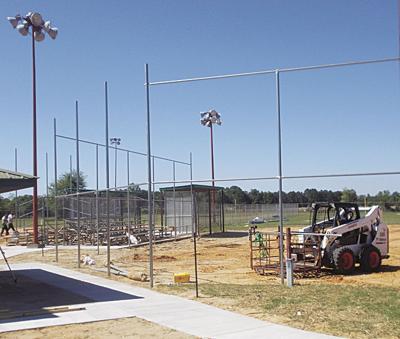 Hawkins Williams Park construction