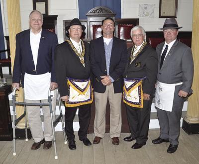 Masonic Lodge event in Monroe County