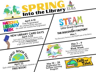 Spring at Library 2021
