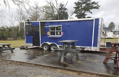 Cook's portable trailer