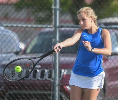 Lady Falcon Tennis remains undefeated