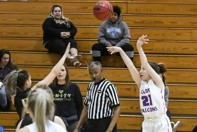 Lady Falcons drop battle with Lawrence Co., win over Giles