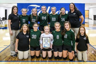 Highland Rims Wins County Volleyball Tournament