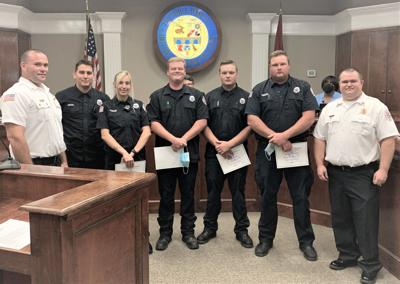 5 Firefighters recognized