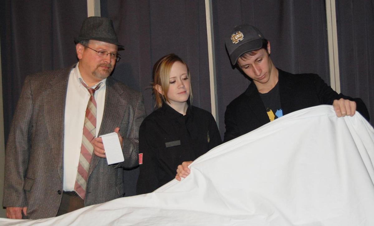 CHP comic murder mystery opens