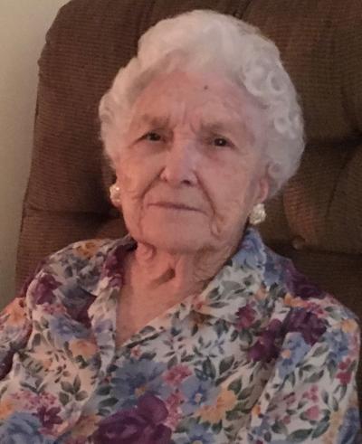 Virginia Tucker Parks Obituary