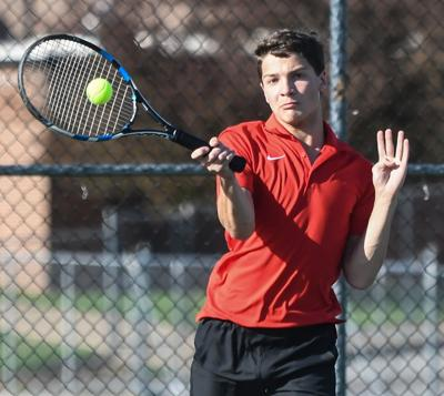 Falcon Tennis remains undefeated in district