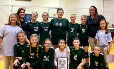 Highland Rim finishes atop County JV Volleyball Tournament