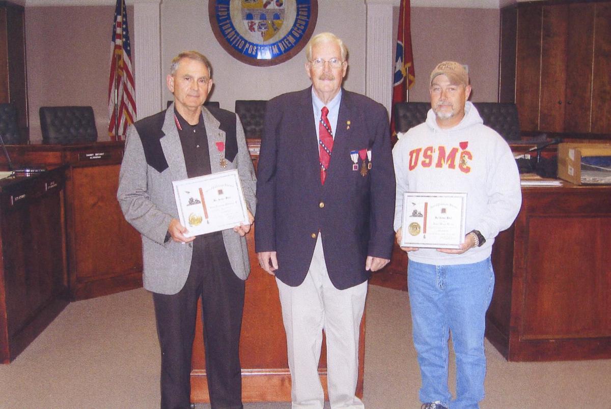 War Service Medals presented