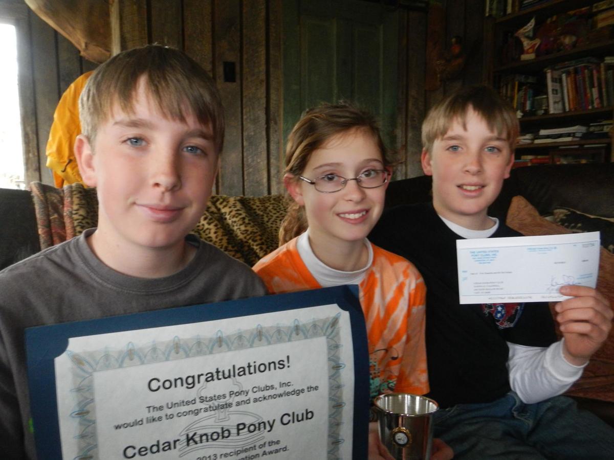 Pony Club receives conservation award