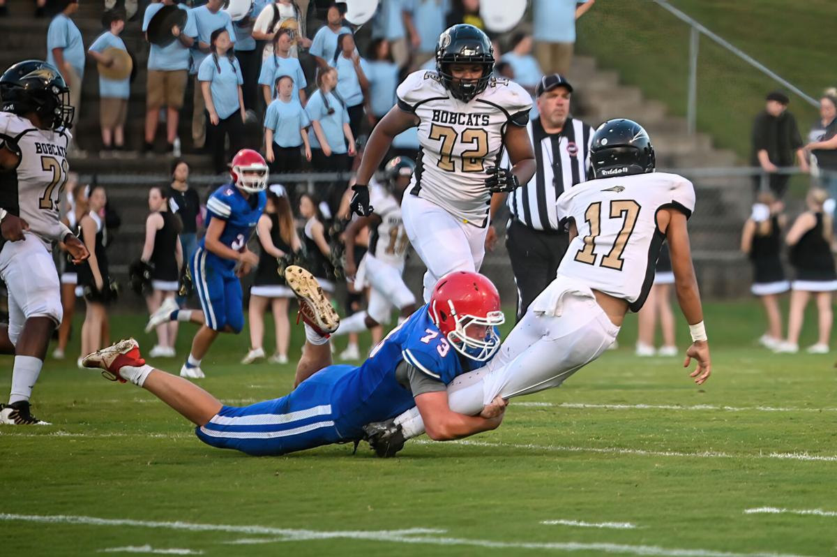 Tough opener for the Falcons in 51-8 loss to Giles County