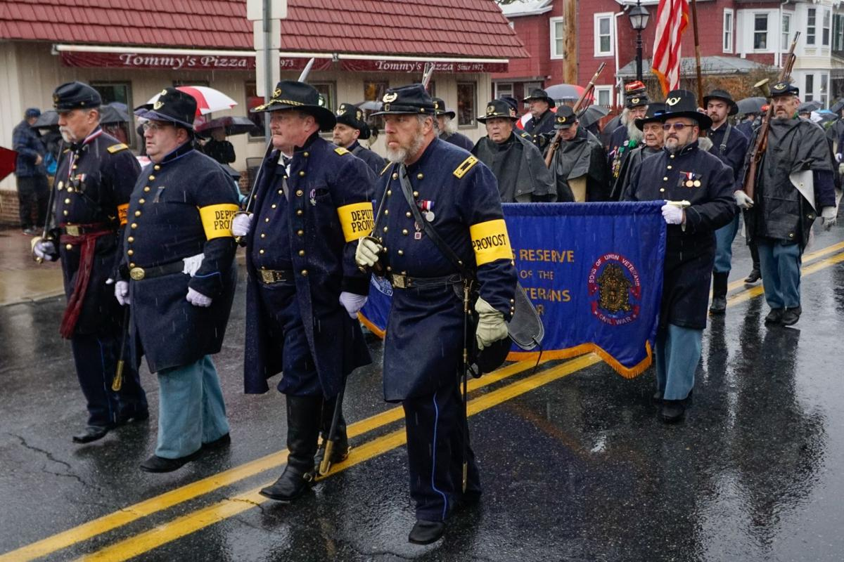 Gettysburg Remembrance Day parade draws large crowd