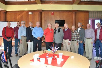Rotary honors veterans