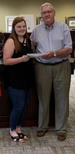Hannah Stout Awarded Kelso Scholarship
