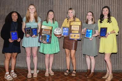 Lady Falcons Basketball Awards
