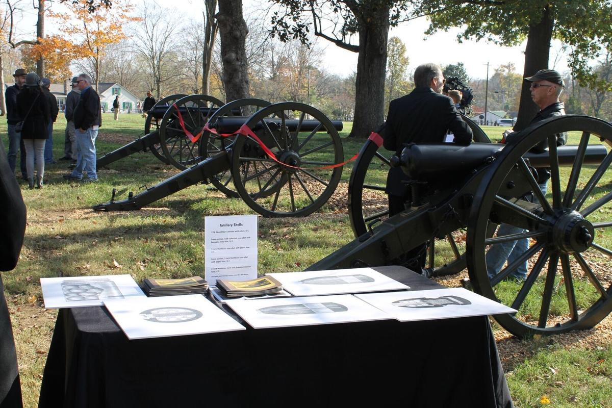 Franklin's Charge Dedicates Cannons at Carter Hill Battlefield Park