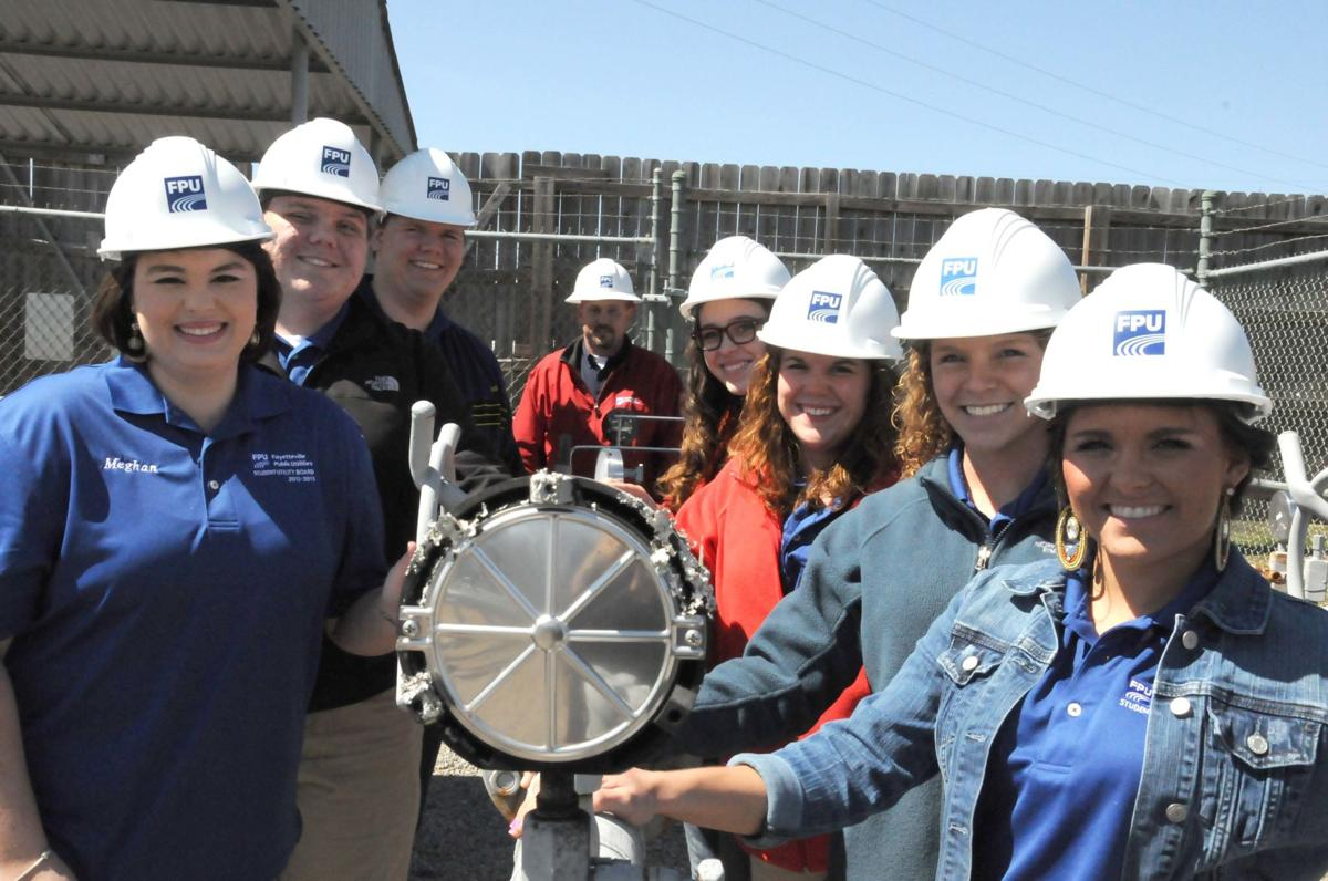 Youth board tours gas, electric departments