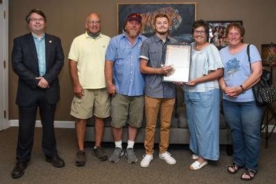 Mayor declares Seth Moyers/Victor E Day