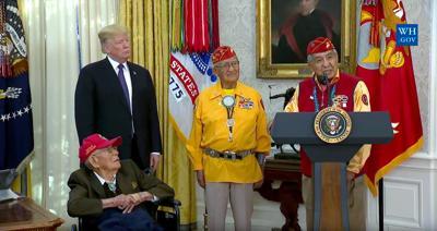 MacDonald of Navajo Code Talkers