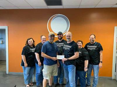 Copperweld sponsor of the 2020 Lincoln County Trap Team