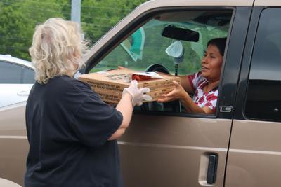 Pizza Hut donates to FHS meal program