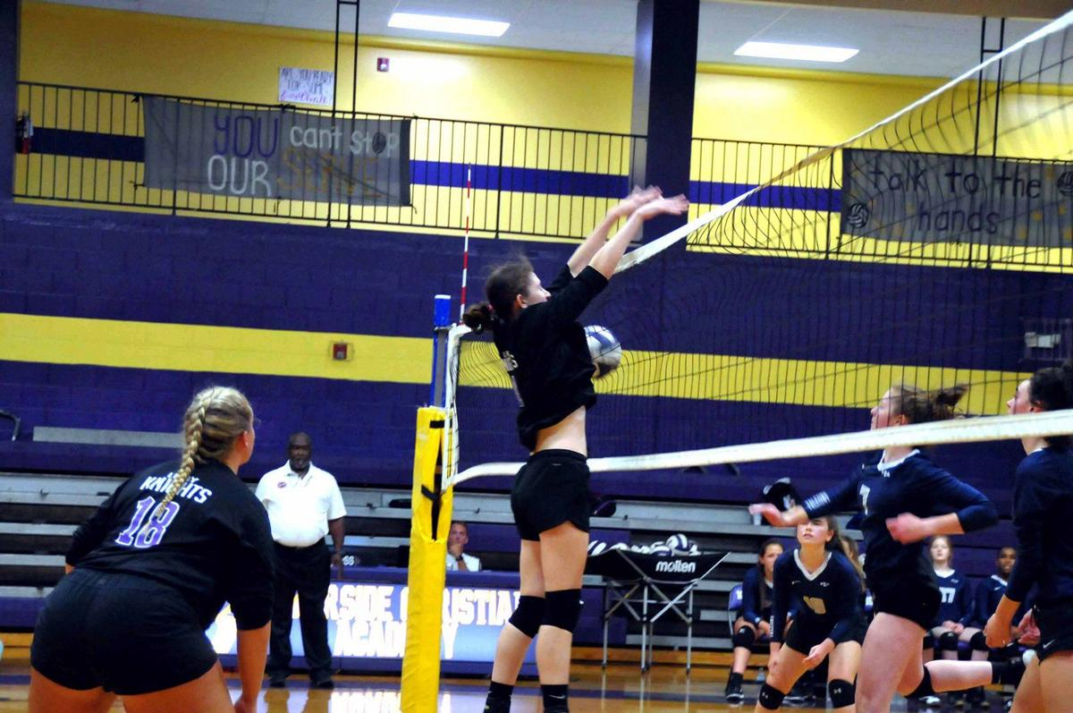 Lady Knights split in week's action | Local Sports