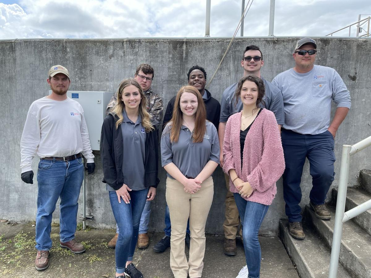 FPU student board tours Wastewater Treatment Plant