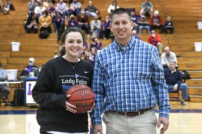 Richardson honored for 1,000 Career points