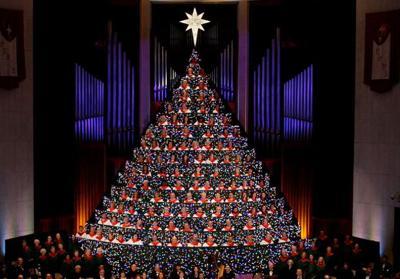 First Baptist Huntsville Al Living Christmas Tree 2020 First Baptist in Huntsville presents 'Living Christmas Tree