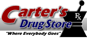 Carter's Drug Store producing sanitizer for the community