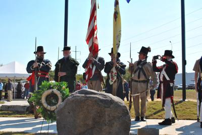 After 107 Years, Daughters of American Revolution Marker remains at Camp Blount