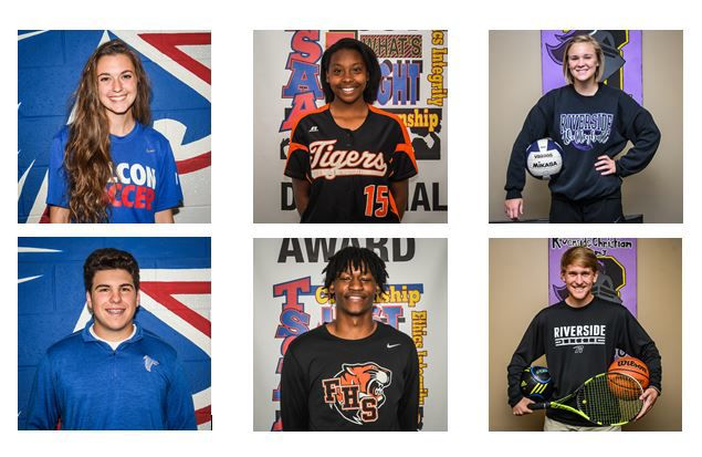 Times 'Athletes of the Year' for 2019
