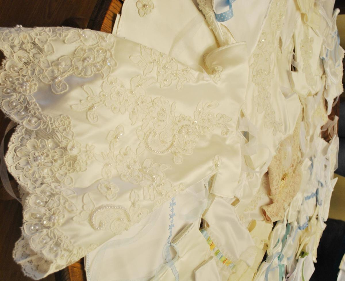 Loving hands transform wedding gowns into Angel Gowns | Living ...